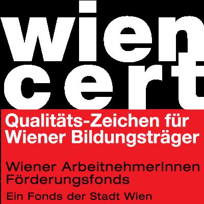 Wien Cert Auszeichnung in weiß