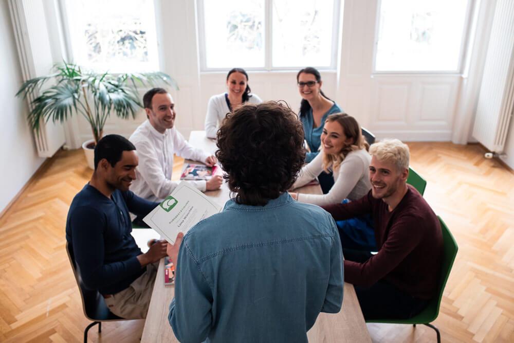 Kleiner Firmen-Sprachkurs in unserer Sprachschule